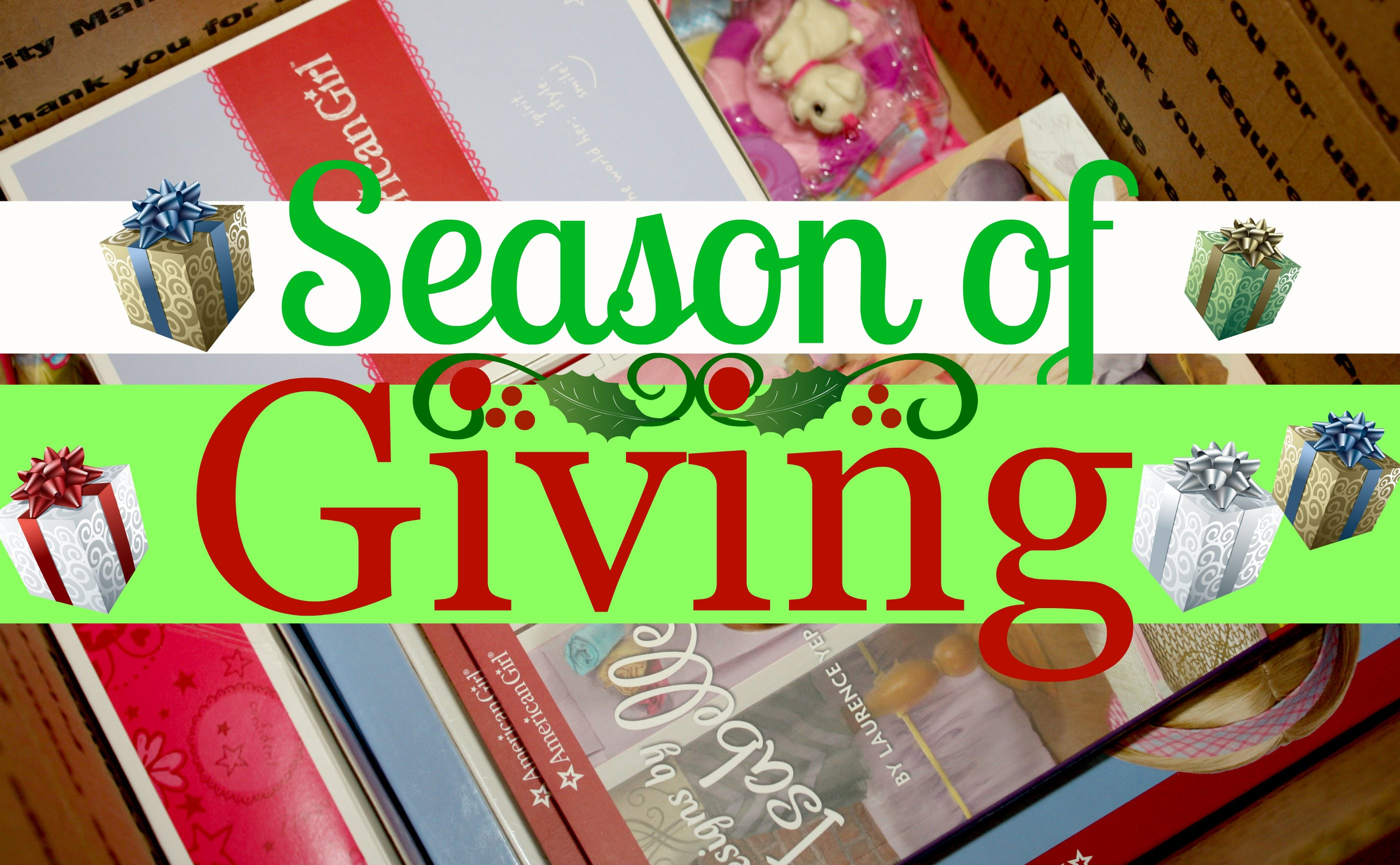 How to Support others Locally, Nationally and Internationally during the Holiday Season