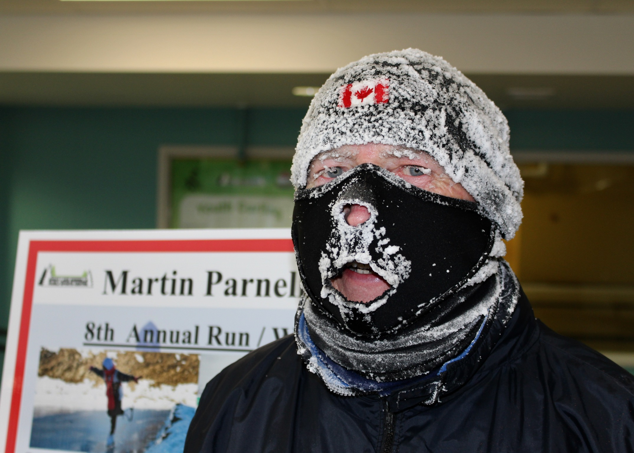 Too Cold for Penguins but Not for Cochrane Runners and Walkers