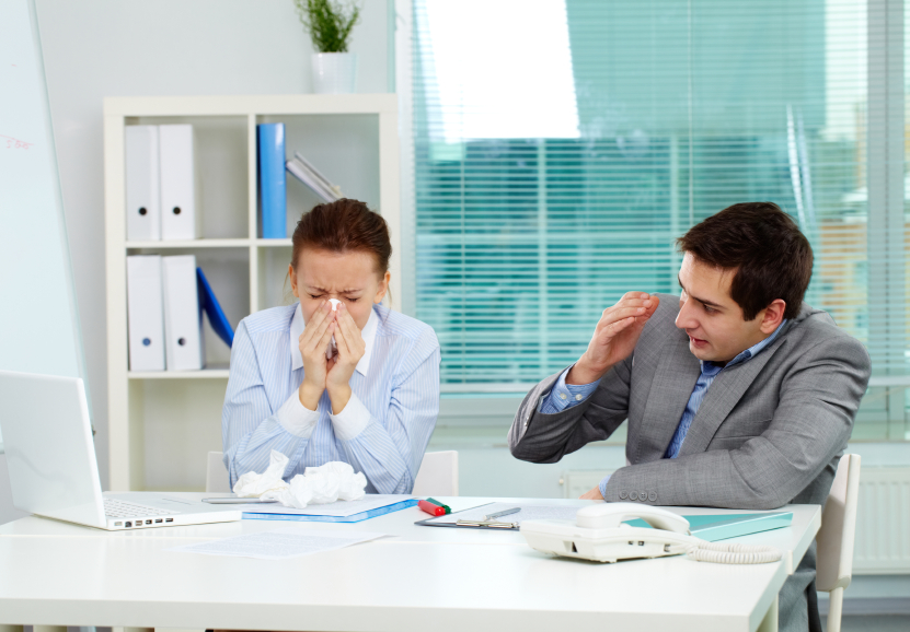 How to Deal with Sickness in the Workplace